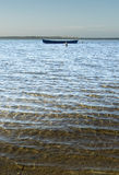 A peaceful day at the bay with calm sea water Stock Photo