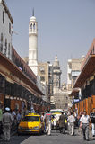 Peaceful day at the Via Recta, Damascus, Syria Stock Images