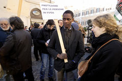 Peaceful Demonstration in Rome,Italy