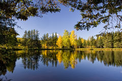 Peaceful Fall Scenery Royalty Free Stock Photography