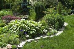 Peaceful garden Royalty Free Stock Photo