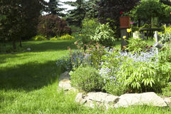Peaceful garden Stock Images