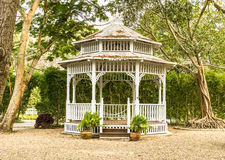 Peaceful gazebo Royalty Free Stock Photos