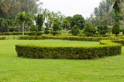 Peaceful Green Garden Royalty Free Stock Photos