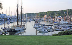 Peaceful Harbor Early Morning Royalty Free Stock Image