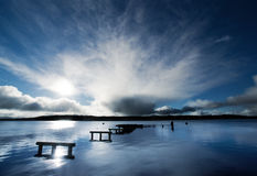 Peaceful Harbour royalty free stock images
