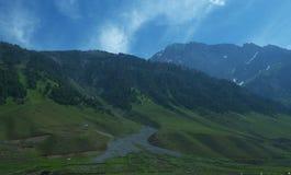 Peaceful Kashmir landscape Royalty Free Stock Photography
