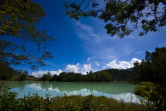 Peaceful Lake. It is a Peaceful Lake at Dieng, Indonesia. www.rusdisanad.blogspot.com Royalty Free Stock Photography