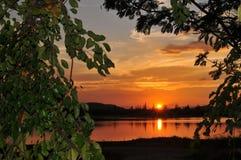 Peaceful lake. A peaceful lake so beautiful Stock Images