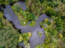 Peaceful lake Stock Image