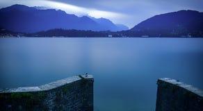 Peaceful lake landscape Royalty Free Stock Photos