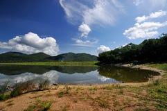 Peaceful lake. A peaceful lake so beautiful Stock Photos