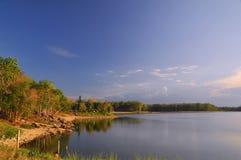 Peaceful lake. A peaceful lake so beautiful Stock Photography