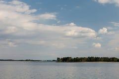 Peaceful lake in Spain Royalty Free Stock Image