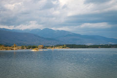 Peaceful lake in Spain Royalty Free Stock Images