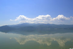 Peaceful  lake view Royalty Free Stock Photo