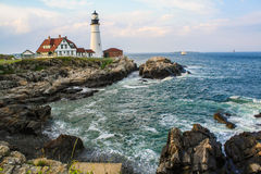 Peaceful Lighthouse Stock Photography