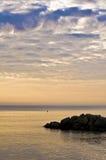 Peaceful marine scenery Stock Images