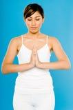 Peaceful meditation Stock Images
