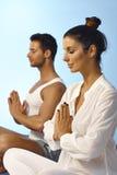 Peaceful meditation Royalty Free Stock Photos