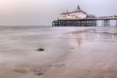 Peaceful morning in Eastbourne. UK Royalty Free Stock Photography
