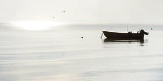 Peaceful morning landscape Royalty Free Stock Photo