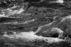 Peaceful Mountain Waterfall Stock Photo
