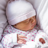 Peaceful newborn baby sleeping Royalty Free Stock Photo