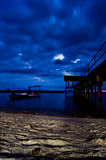 A peaceful night Royalty Free Stock Image