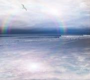 Peaceful ocean scene Stock Images