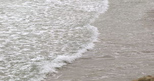 Peaceful ocean scene stock video footage