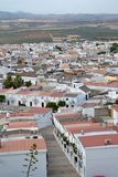 Peaceful Osuna Spain. Osuna full of white houses Royalty Free Stock Image