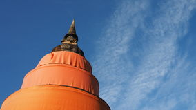 A peaceful pagoda in sunny day Royalty Free Stock Image