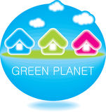 Peaceful planet Stock Photography