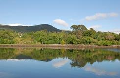 Peaceful reflecting landscape Royalty Free Stock Image