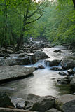 Peaceful River. Cascadeing river in the Great Smokey Mountains National Park Stock Images