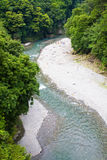Peaceful river of Tokyo Royalty Free Stock Photography