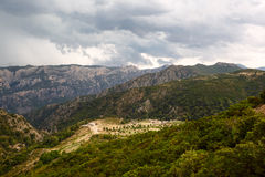 Peaceful rural landscape of Sardinia Royalty Free Stock Photo