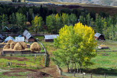 Peaceful Rural Village Royalty Free Stock Photo