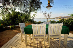 Peaceful scene from Naxos island in Greece Royalty Free Stock Images