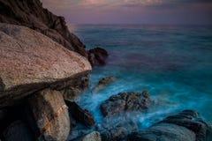 Peaceful sea Stock Image