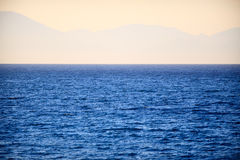 Peaceful sea in Zakynthos Royalty Free Stock Photos