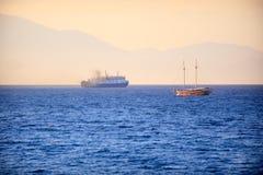 Peaceful sea in Zakynthos Stock Photos