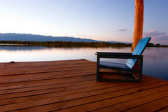 Peaceful seat Royalty Free Stock Photography