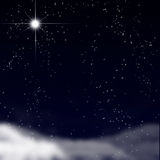 Peaceful sky with stars Royalty Free Stock Photography