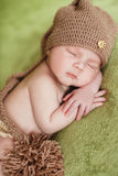 Peaceful sleep of a newborn baby Royalty Free Stock Images