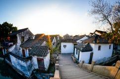 Peaceful South China. Countryside house of zhouzhuang , suzhou, jiangsu Stock Image