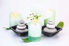 Peaceful spa still life Royalty Free Stock Photo