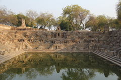 Peaceful Step well of Modhera Royalty Free Stock Photography
