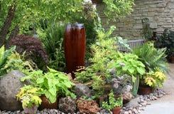 Peaceful Summer garden Stock Images